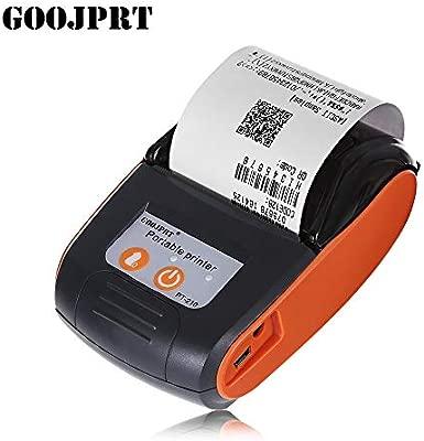 GOOJPRT PT - 210 58MM Impresora térmica Bluetooth portátil ...