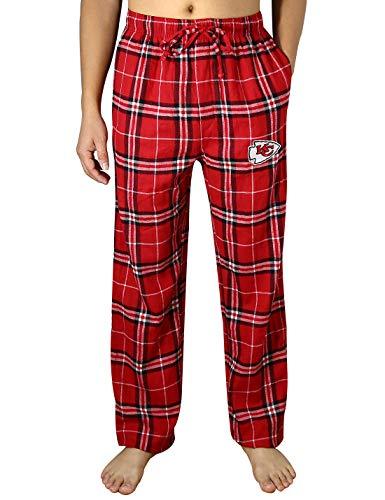 Mens KC CHIEFS Winter Plaid pajama/Lounge Pants Multicolor Size - Pajamas City Kansas Chiefs