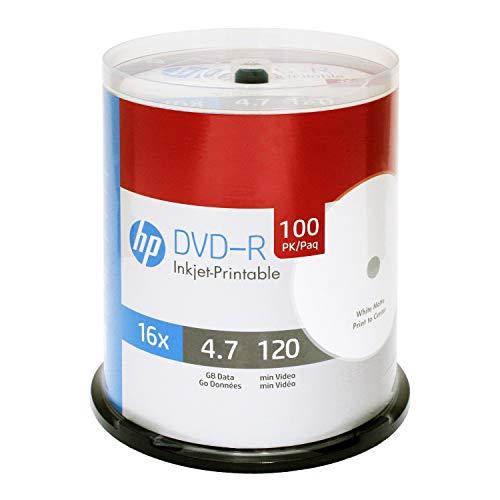 HP DVD-R 16X 50PK cake box HP 4.7GB
