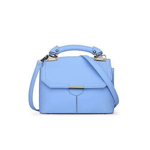 Lado Leather Verano Hebilla Mrs Side Blue Bag Shoulder Magnetic Primavera Paquete Cuero Pu Magnética Pu Spring Buckle Ajlbt Bolsa Bandolera Blue Ajlbt Sra Summer Package cHWX1qHP