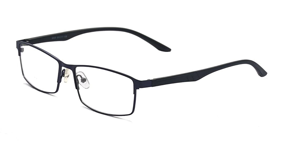 ALWAYSUV Black Classical Nearsighted Shortsighted Myopia Glasses -1.0 to -4.0 for Men Women These Are Not Reading Glasses A2350M-1.5