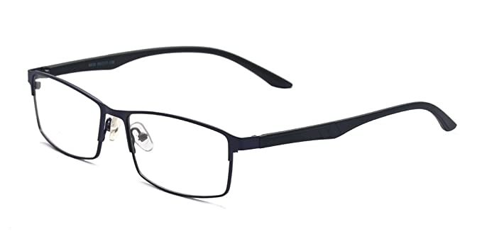 b340281c45 ALWAYSUV Black Myopia Glasses TR90 Frame Shortsighted Nearsighted Eyeglasses  for Men Women (Strength  -