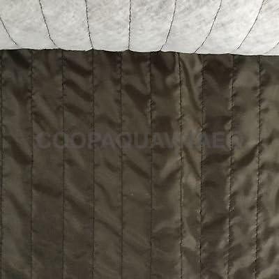 Tela forro acolchado algodón sintética tela relleno sintética Lale Marrón: Amazon.es: Hogar