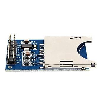 Amazon.com: Lector de tarjetas SD módulo para Arduino UNO ...