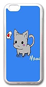 ACESR Kitten Kawaii iPhone 6 Cases, TPU Case for Apple iPhone 6 (4.7inch) Transparent by Maris's Diary