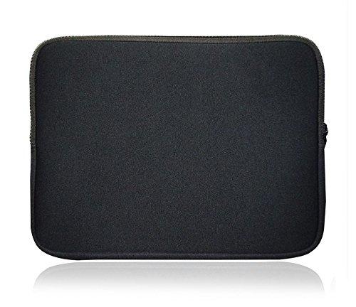 Sweet Tech Black Neoprene Case Cover Sleeve Suitable for Venturer Elite SE 11.6 Inch 2 in 1 Tablet (11.6-12.5 inch Laptop)