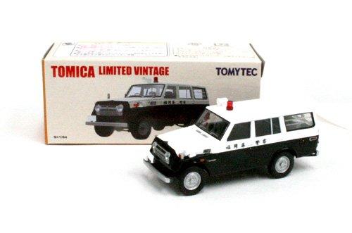 1/64 トヨタ ランドクルーザー FJ56V型 パトロールカー 福岡県警(ブラック×ホワイト) 「トミカリミテッドヴィンテージ」 トミカショップオリジナル 227762