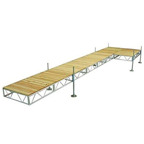 Patriot Docks (AMRP10580 * (24Ft) Patriot Docks L Docks With Cedar Deck)