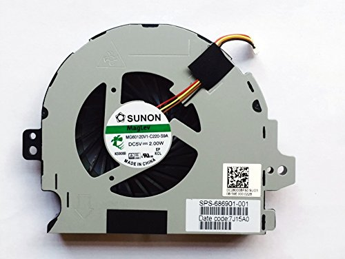 Price comparison product image New CPU Cooling Fan for HP ENVY m6-1105dx m6-1125dx m6-1148ca m6-1153xx m6-1158ca m6-1164ca m6-1184ca m6-1188ca m6-1205dx m6-1225dx