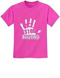 TeeStars - Stop Bullying Speak Up Pink Shirt Day Anti-Bullying Kids T-Shirt