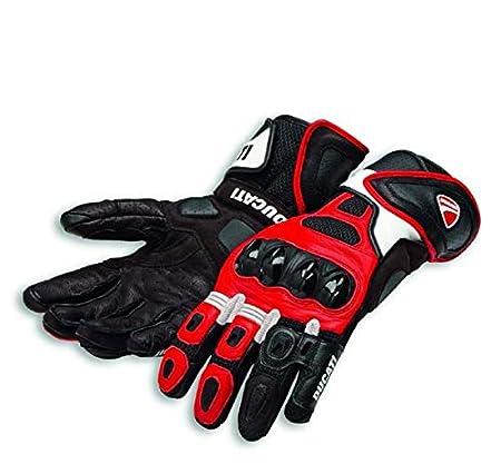 Ducati Speed Air C1 Handschuhe aus Leder rot//wei/ß Gr/ö/ße XL