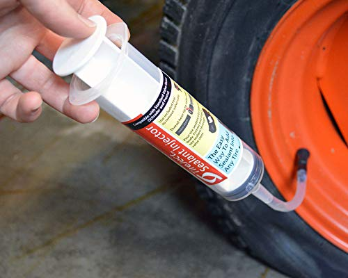 TireJect Off-Road Flat Tire Protection Kit with Sealant Injector (80oz Large Compact Tractor Kit) by TireJect (Image #4)