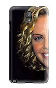 Premium OSOUeBP16119wdGzm Case With Scratch-resistant/ Charlize Theron 220 Case Cover For Galaxy Note 3