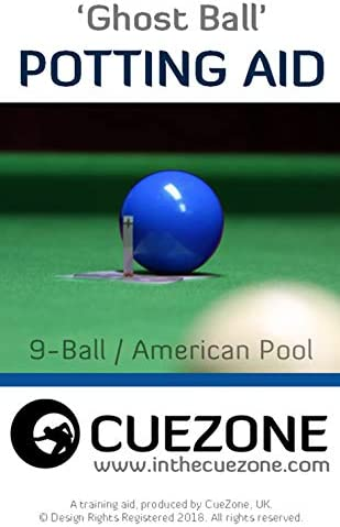 CueZone Ghost Ball – Ayuda para macetas [9 Bolas/Piscina Americana ...