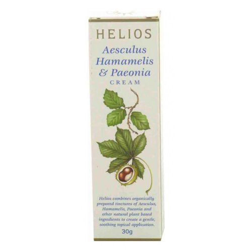 Hemorrhoid Homeopathic Cream - Aesculus, Hamamelis & Paeonia Cream