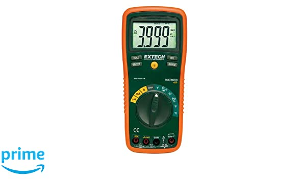 Extech EX420 - Multímetro profesional: Amazon.es: Industria, empresas y ciencia