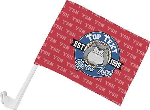 YouCustomizeIt School Mascot Car Flag ()