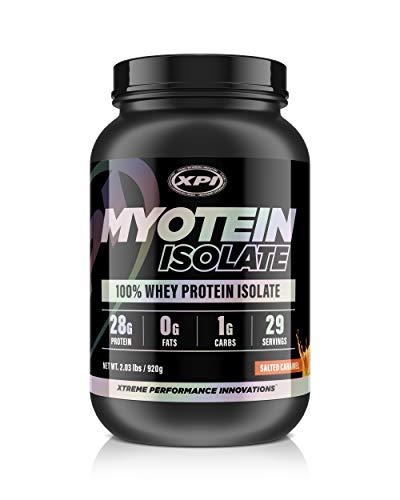 Myotein Isolate (Salted Caramel) 2 Lbs - Whey Protein Isolate - The Best Whey Protein Isolate Protein Powder