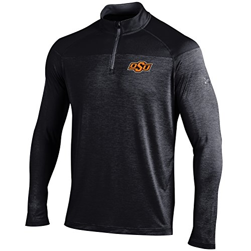 Under Armour NCAA Oklahoma State Cowboys Men's Tech 1/4 Zip Tee, Small, ()