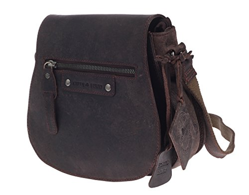 07675118a1 Tracolla Cm A Greenburry 21 Vintage Pelle Revival Brown Bisaccia wnHwTRqBv