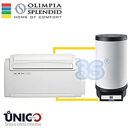 Caldera Climatizador Calentadores Único Olimpia Splendid