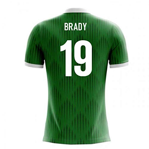 (2018-19 Ireland Airo Concept Home Football Soccer T-Shirt Jersey (Robbie Brady 19))