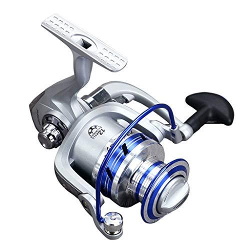 Iusun Spinning Reels Full Metal Fishing Reel 12BB 5.1:1 Saltwater Freshwater Wheel Gear Light Weight Ultra Smooth Powerful Spinning Fishing Reels Low Profile Baitcasting (Offshore Angler Surf Rod)