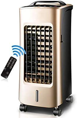 HU HAO UK Aire condizionata- Aire Acondicionado Portatil con Calefactor, deshumidificador, Ventilador de refrigeración, Mando a Distancia, Temporizador 12 Horas, Oro: Amazon.es: Hogar