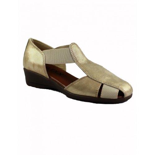 The Flexx - Sandalias de Vestir Mujer Oro