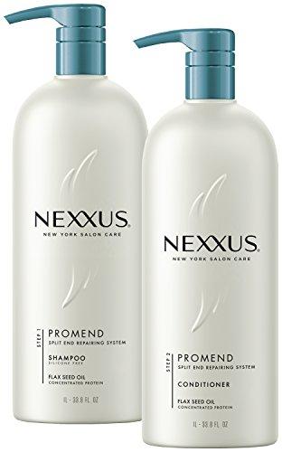 Nexxus Shampoo and Conditioner, Pro Mend 33.8 oz, 2 ct (Nexxus Promend Split End Binding compare prices)