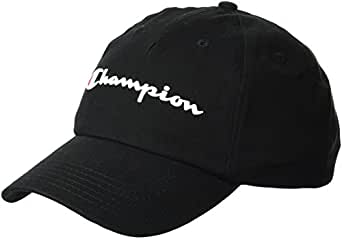 Champion Men's Ameritage Dad Adjustable Cap, black, OS