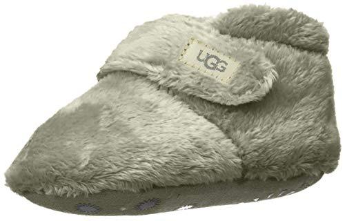 UGG Baby BIXBEE Crib Shoe, Charcoal, 04/05 M US Infant