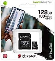 Kingston Canvas Select Plus Tarjeta microSD, SDCS2/128GB Class 10 ...