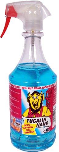 TUGA Tugalin Nano Hochleistungs Glas Reiniger, 1000 ml Sprühflasche