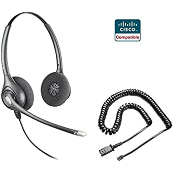 Amazon Com Plantronics Hw261n Headset And Adapter Cable