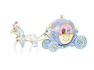 Mattel W2817 Princesas Disney - Caballo y carroza de Cenicienta