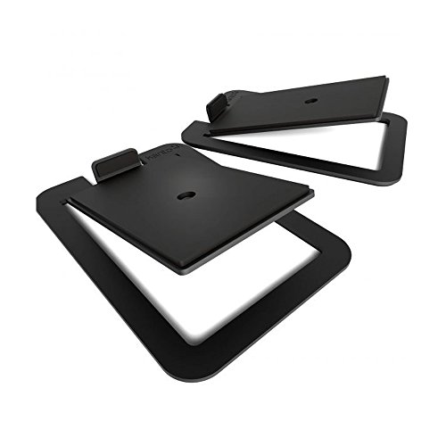Kanto S4 Desktop Speaker Stands for Midsize Speakers   Pair  Black