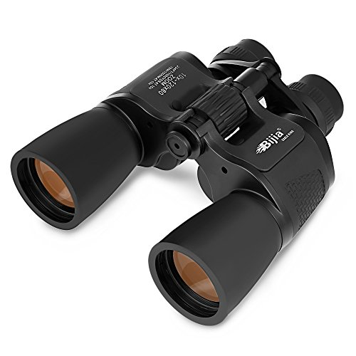 BIJIA 10X-120X80 HD Vision Wide-Angle Prism Binocular for Adults and Kids Outdoor Folding Telescope