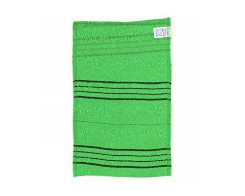 Modu Korean Exfoliating Scrub Bath Washcloth Large size(10 pcs) Removes Dead Skin Mitten Cloth