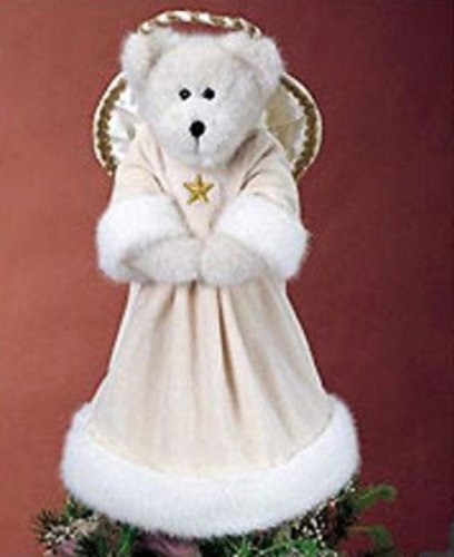 BOYDS BEARS ANGELINE ANGELFROST HOLIDAY TREE TOPPER ANGEL