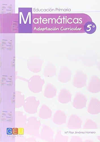 Descargar Libro Ep 5 - Matematicas - Adaptacion Curricular Pilar Jimenez Hornero