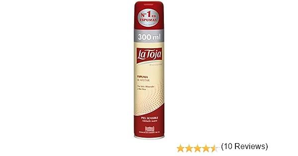 La Toja Espuma de Afeitar Piel Sensible - 300 ml: Amazon.es: Salud y cuidado personal