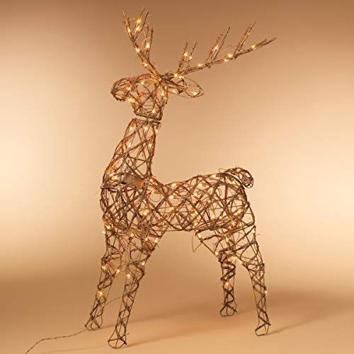 Outdoor Lighted Reindeer For Christmas in US - 5