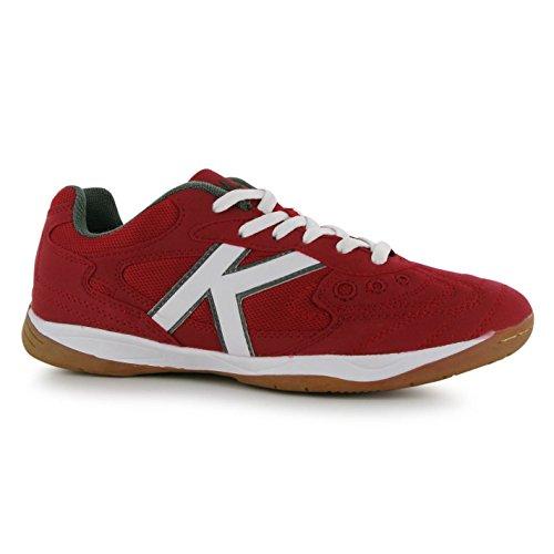 Kelme Copa Indoor Scarpe da calcio FUTSAL Rosso Calcio 5A-Side Sneakers