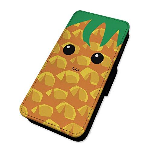Groovy ananas Face–Custodia ad aletta in pelle copertura di carta Apple Iphone 8 Plus
