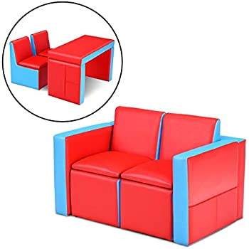 Terrific Amazon Com Marshmallow Furniture Childrens 2 In 1 Flip Home Interior And Landscaping Ologienasavecom