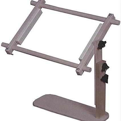 Amazon.com: Adjustable Wooden Needlework Lap Frame