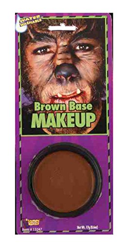 Forum Grease Makeup Halloween Tiger Lion - Brown - Halloween Lion Costume Makeup