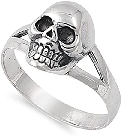 CHOOSE STYLE Sterling Silver Skull product image