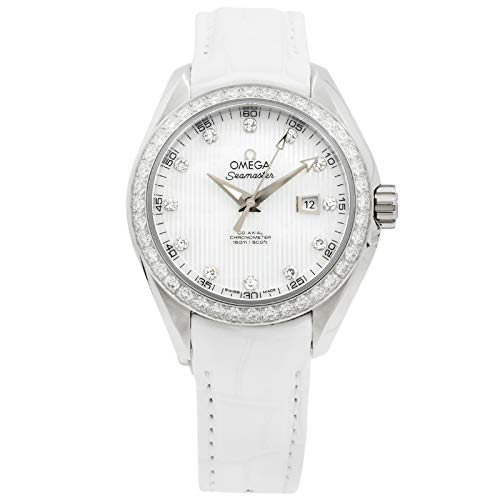 Omega Seamaster Mechanical (Automatic) Mother of Pearl Dial Womens Watch 231.18.34.20.55.001 (Certified Pre-Owned)